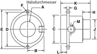 Abmessungen Super Air Amplifier Modelle 120020-120024