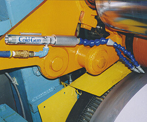 Kühlwalze Coolant Free Tool Grinding