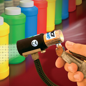 Neutralize static with the GEN4 Ion Air Gun