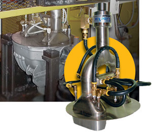 Heavy Duty Line Vac vacuums chips from drive train