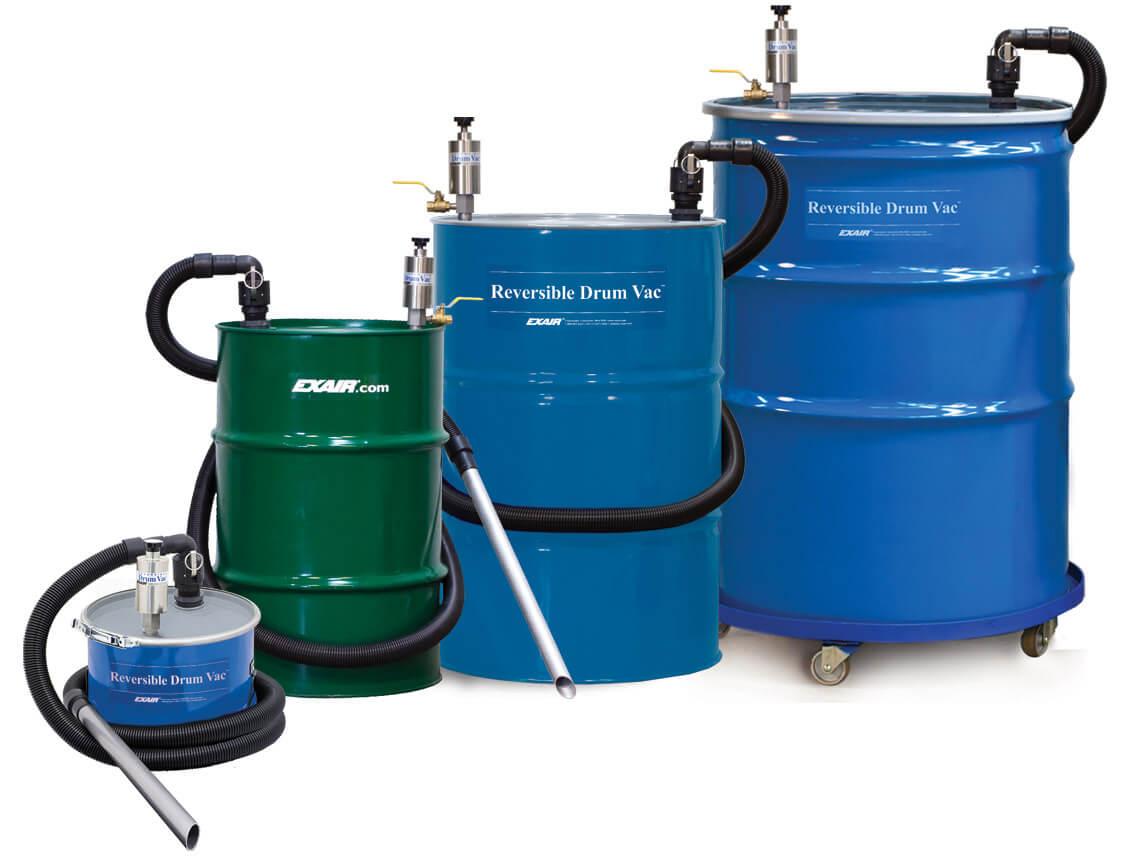 Reversible Drum Vac Liquid Vacuum Cleaner By Eputec