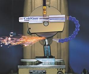 Kaltluftpistole Schleifen von Werkzeugen Coolant Free Tool Grinding