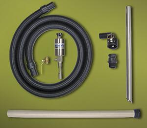 Drum Vac System mit Saugschlauch und Aluminiumrohr