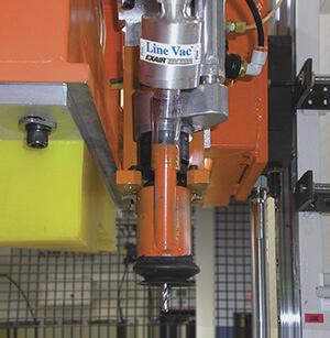 Line Vac Vakuumförderer - Vakuum gedrillte Plastikteile