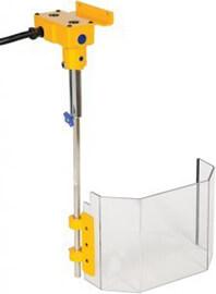 Schutzeinrichtung für Bohrmaschinen TR7; Befestigung 150 mm + 480 mm - Schutzeinrichtungen für Bohrmaschinen