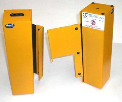 Rollabdeckungen zur Leit- und Zugspindelabdeckung für Drehmaschinen zweiteilig