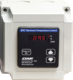 Elektronische Temperaturregelung