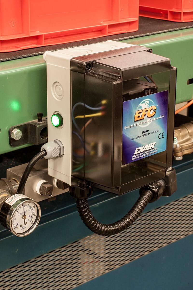 Elektronischer Stroemungsschalter für Druckluft - EFC Electronic Flow Control