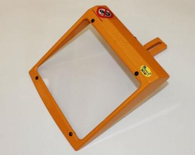 Schutzeinrichtung für Schleifmaschinen MO/2-Glas mit Schirm 193 x 170 mm