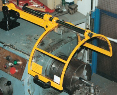 Safety Guards for lathes turning machines chuck guards