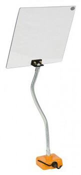 Schutzabdeckung RM flexibler Arm magnetische Befestigung 230 x 300 mm Schutzeinrichtungen Zubehör