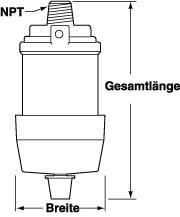 Filterschalldämpfer Modell