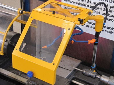 Schutzeinrichtung für Drehmaschinen TC Version 1-3