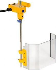 Bohrmaschinen Schutzeinrichtung TR2 200 mm x 130 mm oder TR3A 300 mm x 200 mm mit Spindelschutz - Schutzeinrichtungen für Bohrmaschinen