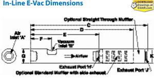 E-Vac Dimensions