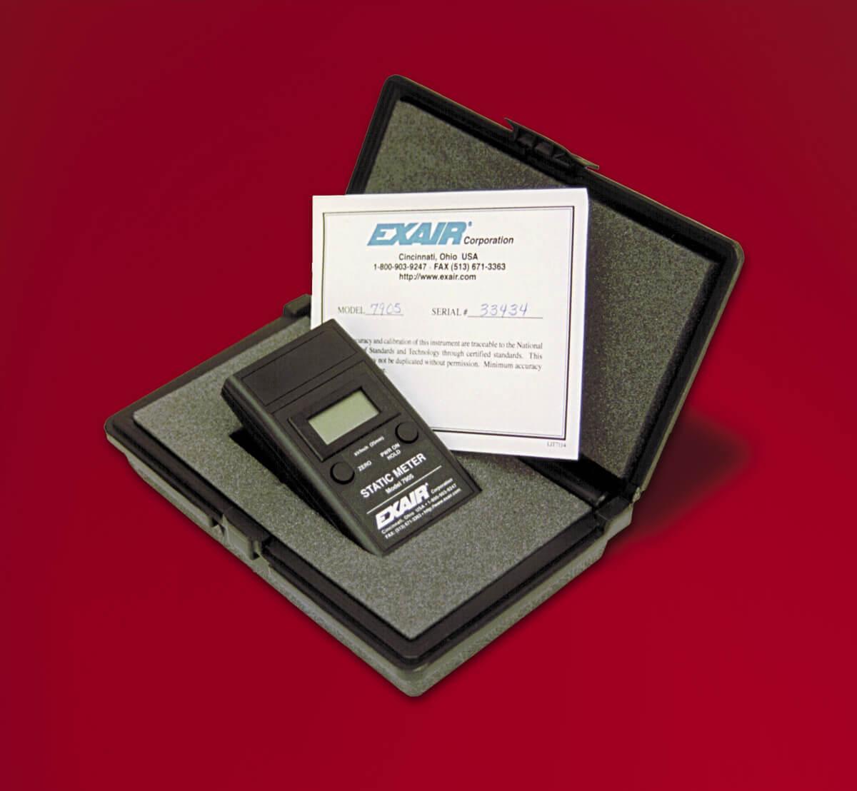 Digital Static Meter Digitales elektrostatisches Messgerät