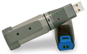 USB Daten-Logger für den digitalen Durchflussmesser