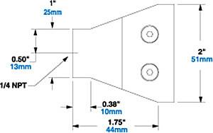 Modell-1122-Abmessungen / Dimensions