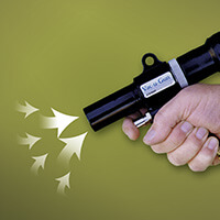 Saug-Blaspistole (Vac-u-Gun)