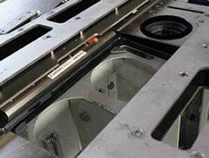 Luft vorhang Air Knives - Air Knives verhindern, das Verunreinigungen an Schutzgläsern von Beleuchtungs- bzw. Kamerasystemen entstehen.