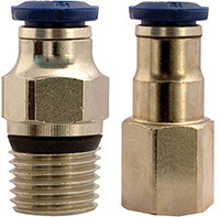 Push-In Connectors for E-Vac
