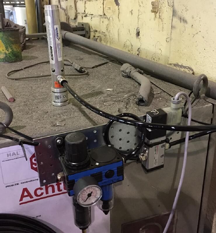 Schaltschrankkühler Aluminiumgießerei Befestigung