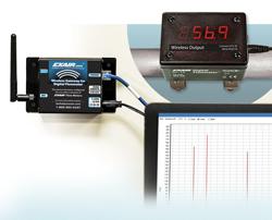 Digitales Durchflussmessgerät - Wireless