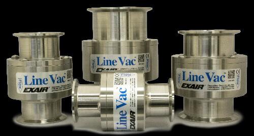 Vakuumförderer Hygiene Flansch Förderer - Sanitary Flange Line Vac