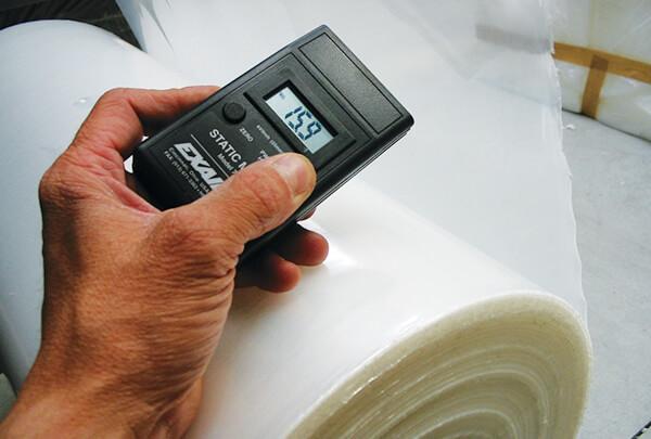 Digitales elektrostatisches Messgerät - Staticmeter