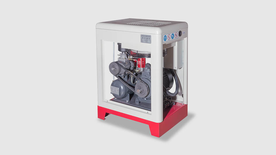 water-injected air compressor