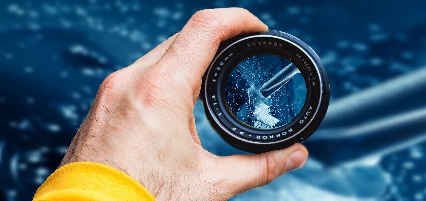 Klare Sicht auf Ihr Werkstück beim Filmen & Fotografieren - Was passiert in Ihrer CNC-Maschine?