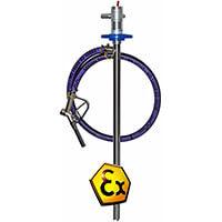Fasspumpen Druckluftmotor Explosionsgeschützt