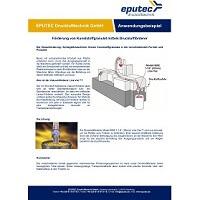 EPUTEC Anwendungsbeispiel Druckluftförderer