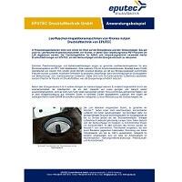 EPUTEC Anwendungsbeispiel Leerflaschen-Inspektionsmaschinen