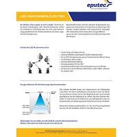 EPUTEC LED-Maschinenleuchten