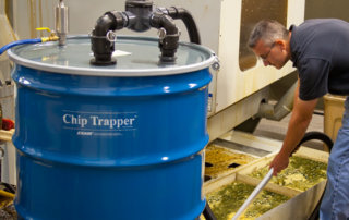 Chip Trapper in der Anwendung